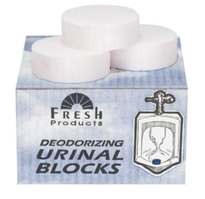 4oz URINAL PUCKS - White, Cherry Scent - 12/Box - D7672